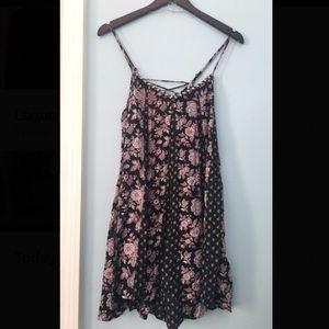 American Eagle Boho Trapeze Dress